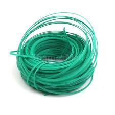 50Meter Green Plastic Twist Tie Wire Spool with Cutter for Garden Yard Plant