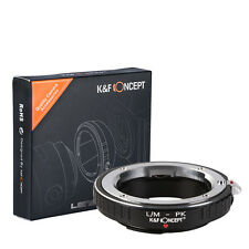 K&F Concept Leica M Lens to Pentax PK mount Adapter Ring L/M-PK