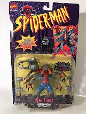 Marvel Spiderman Animated Series Man-Spider Restraints Figure Toybiz 1995 90s