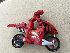 Power Rangers jungle fury red ranger  & figure
