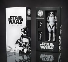 """Star Wars The Force Awakens Black Series 6"""" First Order Stormtrooper SDCC 2015"""
