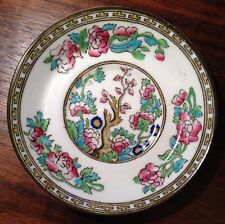 "Ye Olde INDIAN TREE 4.5""SAUCER SB&S Sampson Bridgewood ANCHOR CHINA ENGLAND 11cm"