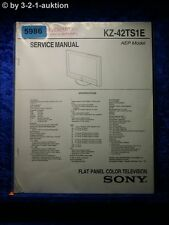 Sony Service Manual KZ 42TS1E Color TV (#5986)
