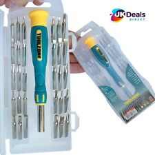 Precision Screwdriver Set Phillips Torx Star Slotted Hex Key Security Bits 31pc