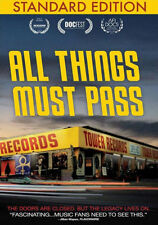 ALL THINGS MUST PASS - DVD - Region Free - Sealed