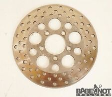 "10"" FRONT ROTOR 1979 79 Harley Sportster 1000 Ironhead Brake Disc Cross Drilled"