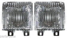 New Turn Signal Light Lamp PAIR / FOR 1983-91 CHEVROLET GMC VAN WITH DHL