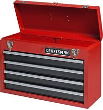 Craftsman 4 Drawer Portable Metal Box Steel Mechanic Tool Chest Toolbox Storage