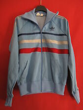 Veste Vintage First ciel ADIDAS Made in France Ventex 80'S taille 168 / S