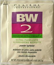CLAIROL PROFESSIONAL BW2 DEDUSTED EXTRA STRENGTH  POWDER LIGHTENER HAIR BLEACH