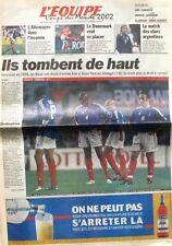 Cahier Spécial Coupe du Monde de L'équipe n°17516 du 1er juin 2002 - Football