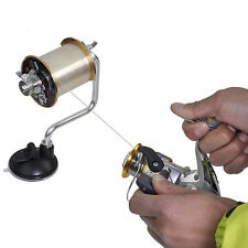 Portable Fishing Line Reel Spooler Winder Spool Winding System Tackle Coil Tool