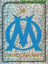 235 ECUSSON BADGE LOGO FRANCE OLYMPIQUE MARSEILLE OM STICKER FOOT 2010 PANINI