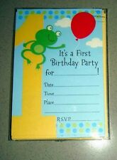 Lot of 36 - 1st Birthday Invitations with Envelopes + FREE SHIPPING