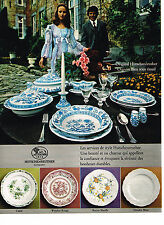 PUBLICITE ADVERTISING 024   1972   HUTSCHENREUTER    porcealine