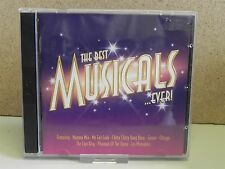 THE BEST OF MUSICALS EVER- Cast Recording Songs 2-CD (Lion King/Les Miserables)