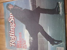 ROLLING STONE MAG 1981 BRUCE SPRINGSTEEN INTERVIEW STEELY DAN WALTER CRONKITE