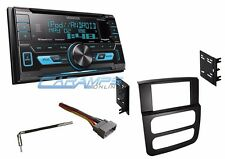 NEW KENWOOD DOUBLE 2 DIN CAR STEREO RADIO WITH USB/AUX IN & SIRIUS & INSTALL KIT