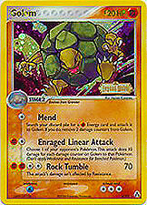 Golem Holo Reverse Pokemon Card EX-Legend Maker 6/92