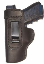Ruger P95 Leather Gun Holster LT RH OWB Black