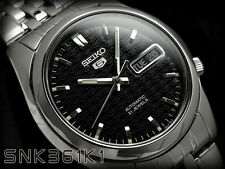 Seiko 5 Men's SNK361K Stainless Steel Automatic 21 Jewels Day Date Watch