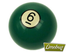 Green 6 Billiard Pool Ball Gearstick Solid Shift Gear Knob Snooker VW T1 Beetle