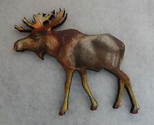 Moose Brooch or Scarf Pin Accessories, Jewelry Fashion New Wood brown