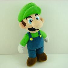 LATEST Super Mario Brother Luigi 23cm Soft Plush Stuffed Figure Toy Doll + GIFT