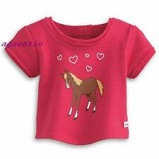 American Girl T-Shirt TEE From Western Horse Riding Outfit McKenna Nicki Saige