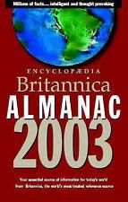 Encyclopaedia Britannica Almanac 2003 (Encyclopedia Britannica Almanac),ACCEPTAB