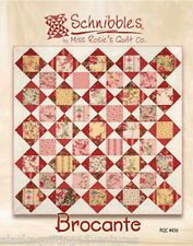 Charm Pack Quilt Pattern ~ BROCANTE ~ by Schnibbles - Miss Rosie's Quilt Co.