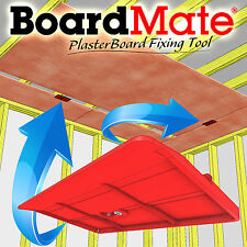 BoardMate - Plasterboard Fixing Tool, Supports The Board In Place While Fixing.