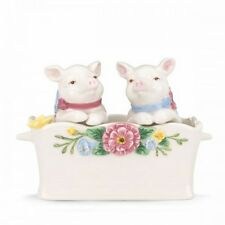 Lenox Butterfly Meadow Pigs In A Blanket Salt & Pepper Set *NIB*