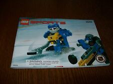 LEGO SPORTS HOCKEY PUCK FEEDER 3545 COMPLETE