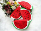 Great Pleasing Fashion Cute Plush Red Watermelon Coin Purse Wallet Pouch Bag