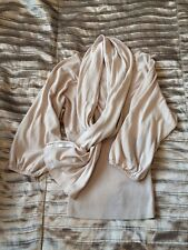 WOMENS H&M TOP with decorative scarf - XS