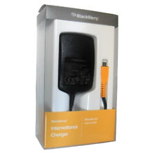 New OEM BlackBerry MicroUSB 2A International Travel Charger w 4 plugs Retail