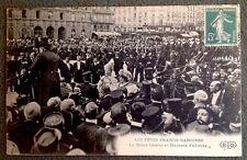 CPA. PARIS. 75 - 1907. REINE LOUISE et Mme FALLIÈRES. FÊTES FRANCO DANOISES.