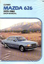 MAZDA 626 1979~1982 NEW IN SEALED ORIGINAL PACKAGING AUTO SHOP REPAIR MANUAL