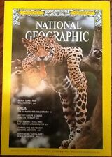 November 1977 National Geographic Kauai Hawaii  Brazil  excellent back issue