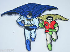 BATMAN ROBIN BAT MAN  Embroidered Sew Iron On Cloth Patch Badge Jacket Jeans NEW