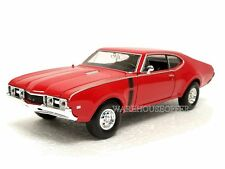 WELLY 1:24 DISPLAY - 1968 OLDSMOBILE 442 Diecast Car Model 24024-4D