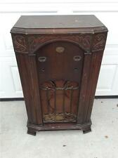 Antique Zenith Floor Radio Cabinet Walnut  Model 750