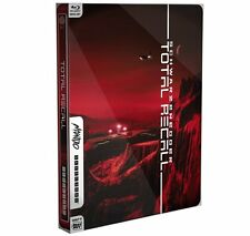 TOTAL RECALL (1990) Mondo X STEELBOOK - BLU-RAY/Digital Edition *NEW*