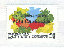 SPAIN ESPAÑA 1988 MNH SC.2587 Natl.Constitution 10th