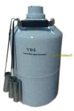 Updated 3L Cryogenic Container Liquid Nitrogen LN2 Dewar Tank EY