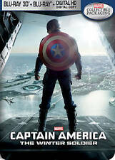 Captain America: The Winter Soldier, 3D Blu-ray, Best Buy Steelbook - Like New!