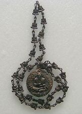 Necklace Phra Somdej Toh Wat Rakang Thai Buddha Amulet Old Metal
