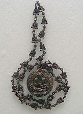 Necklace Phra Somdej Toh Wat Rakang Thai Buddha Amulet Old Metal