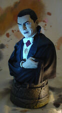 "BELA LUGOSI as COUNT DRACULA 6"" BUST w PROFESSIONAL PAINT"